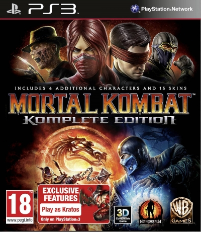 PS3 MORTAL KOMBAT KOMPLETE EDITION (2.EL)