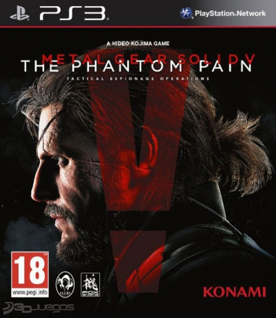 PS3 METAL GEAR SOLID 5 THE PHANTOM PAIN (SIFIR)