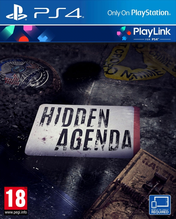 PS4 HIDDEN AGENDA TÜRKÇE